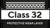 Classe 32 camada protetora
