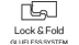 Sistema de encaixe Lock & Fold